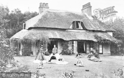 Bournemouth, Cliff Cottage, West Cliff 1863