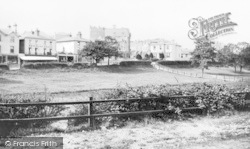 Bournemouth, Commercial Road And Upper Gardens 1870