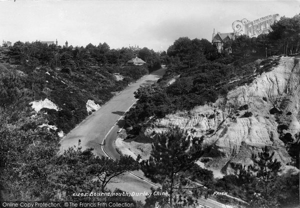 Bournemouth, Durley Chine 1908