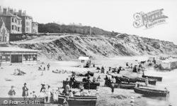 Bournemouth, East Beach 1875