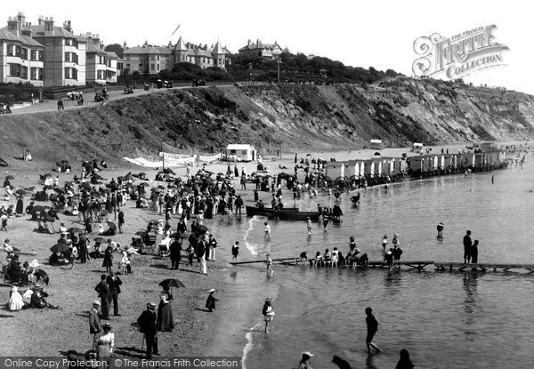 Bournemouth, East Cliff 1903