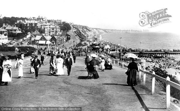 Bournemouth, East Cliff 1908