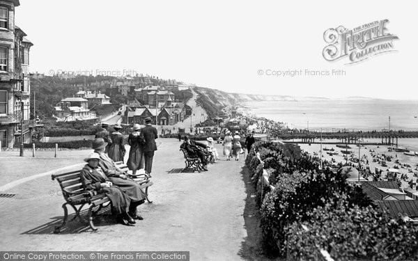 Bournemouth, East Cliff 1918