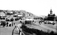 Bournemouth, East Cliff From West 1897