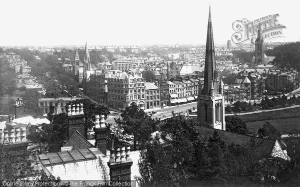 Bournemouth, from Boscobel Tower 1887
