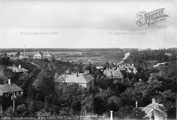 Bournemouth, From Mont Dore Hotel 1897