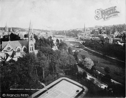 Bournemouth, From Mont Dore Hotel c.1900