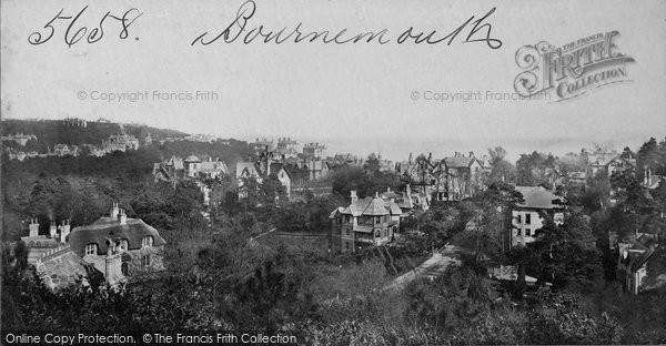 Bournemouth, From Terrace Mount c.1871