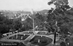 Bournemouth, From The Gardens c.1865