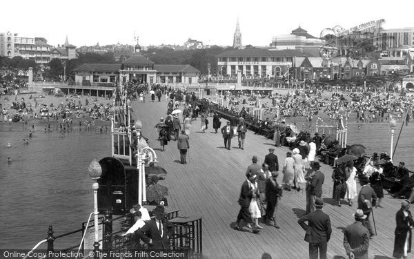 Bournemouth, From The Pier 1933