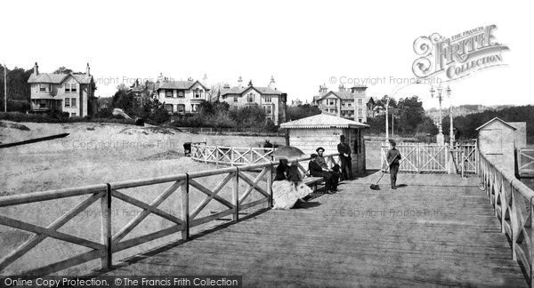 Bournemouth, From The Pier c.1871