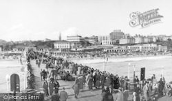 Bournemouth, From The Pier c.1935