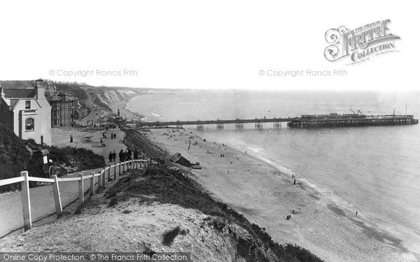 Bournemouth, From West 1895