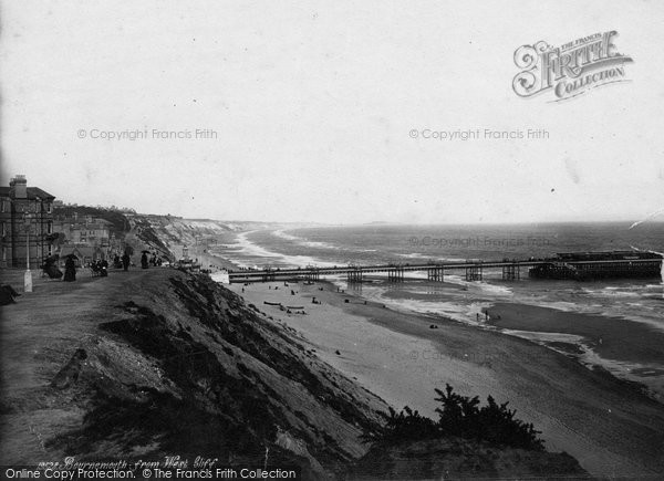 Bournemouth, From West Cliff 1887