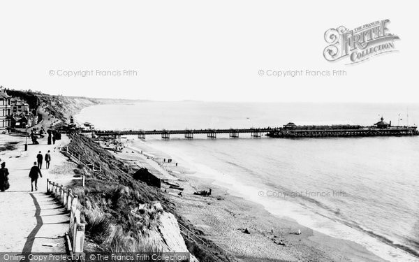 Bournemouth, From West Cliff 1897