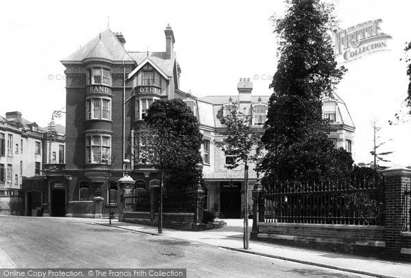 Photo of Bournemouth, Grand Hotel 1895