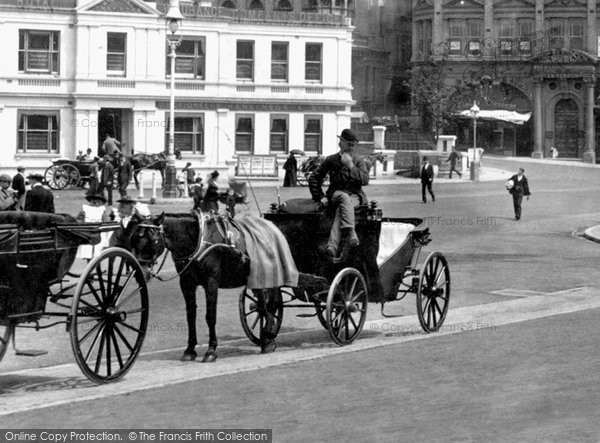 Bournemouth, Horse And Carriage 1900