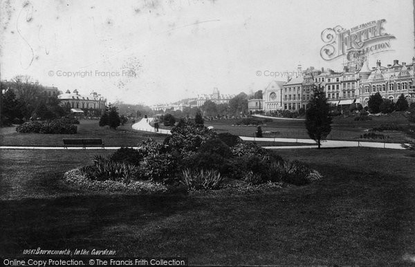 Bournemouth, In The Gardens 1887