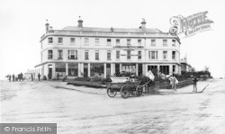 Bournemouth, Lansdowne Crescent, The Post Office c.1870