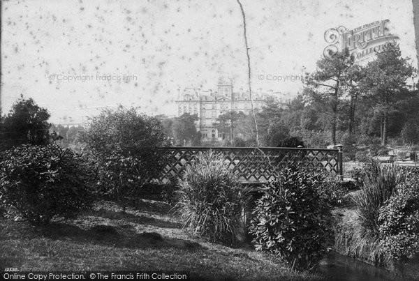 Bournemouth, Mont Dore 1887