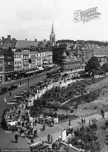 Bournemouth, Old Christchurch Road 1925