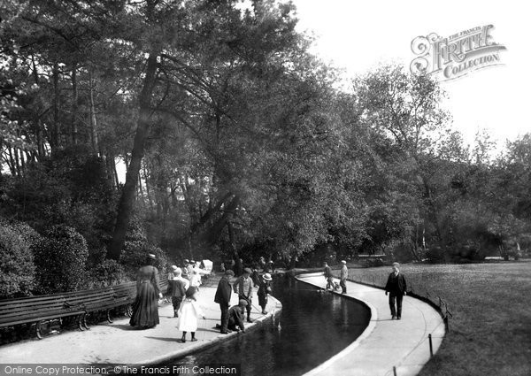 Bournemouth, On The Bourne 1900