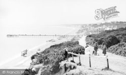 Bournemouth, Pier And West Cliff 1872