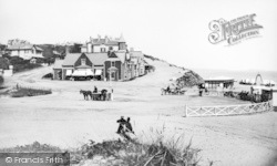 Bournemouth, Pier Approach From West c.1875
