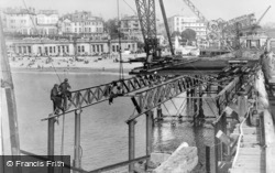 Pier, Closing The Gap 1947, Bournemouth