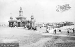 Bournemouth, Pier From Pier Approach c.1890