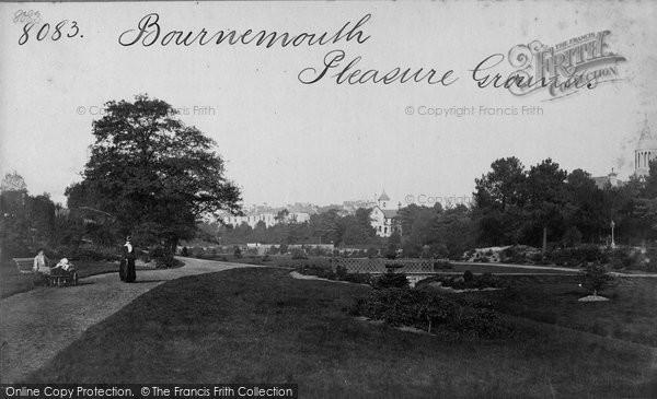 Bournemouth, Pleasure Grounds c.1875
