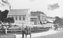 Bournemouth, Square From Commercial Road 1875