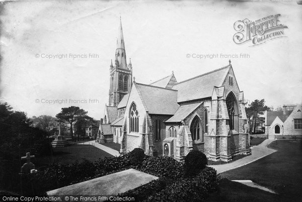 Bournemouth, St Peter's Church 1887