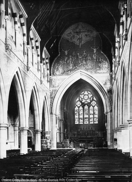Bournemouth, St Peter's Church Nave East 1887