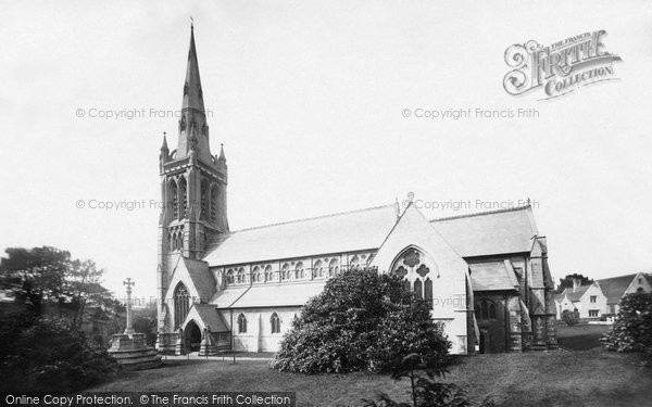 Bournemouth, St Peter's Church South Side 1887