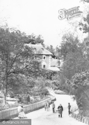 Bournemouth, Terrace Cottage And Exeter Road c.1865