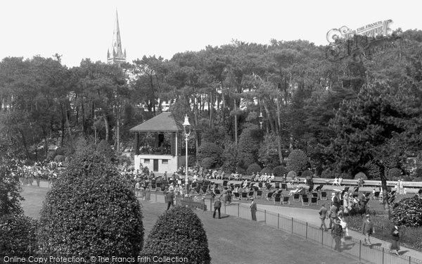 Bournemouth, The Bandstand 1933