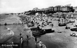 Bournemouth, The Beach 1925