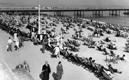 Bournemouth, The Beach c.1955