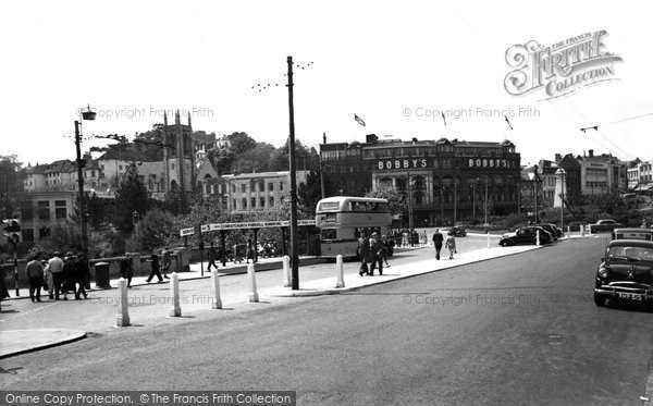 Bournemouth, The Centre c.1955