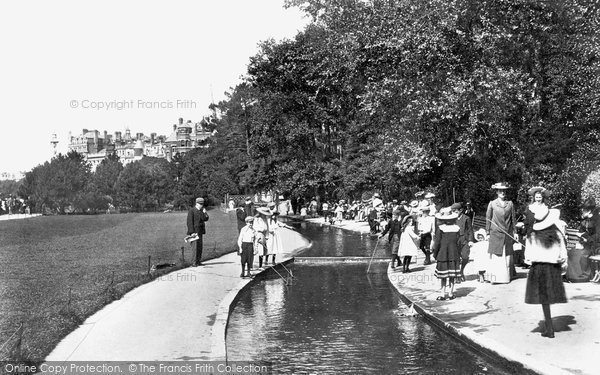 Photo of Bournemouth, the Gardens 1904
