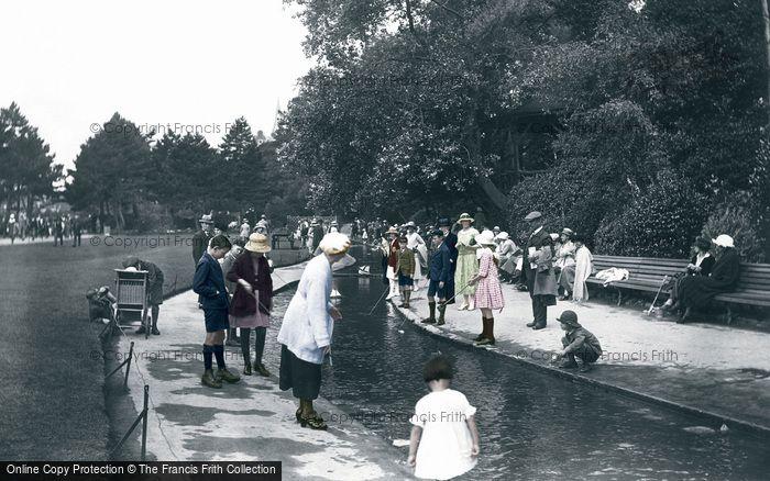 Bournemouth, The Gardens 1922