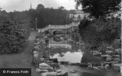 Bournemouth, The Gardens 1931
