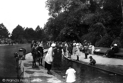Bournemouth, The Gardens, Children's Corner 1922
