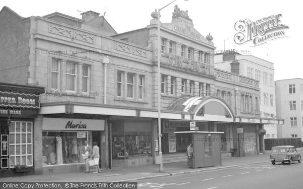 Bournemouth, The Grand Cinema, Westbourne 1970