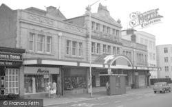 Bournemouth, The Grand Cinema, Westbourne c.1975