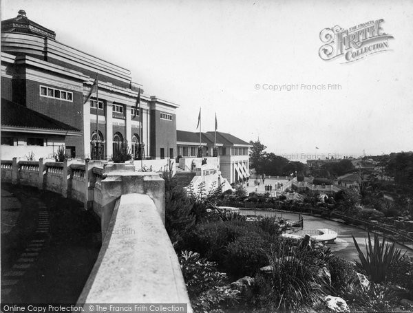 Bournemouth, The Pavilion And Gardens 1933