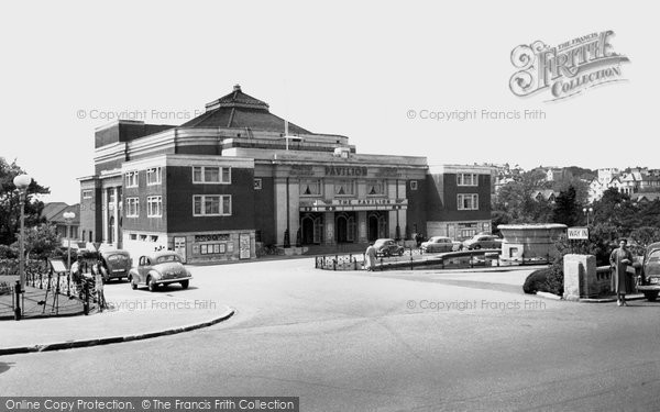 Bournemouth, The Pavilion c.1955