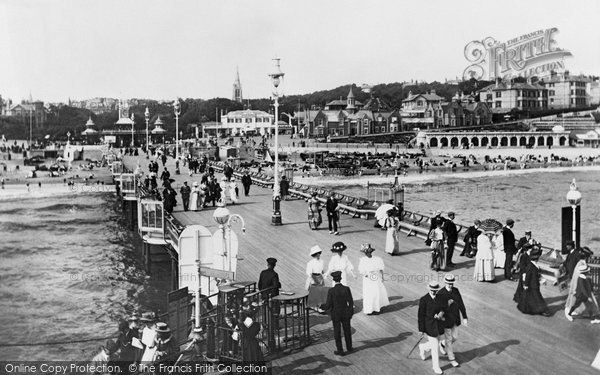 Photo of Bournemouth, the Pier 1908