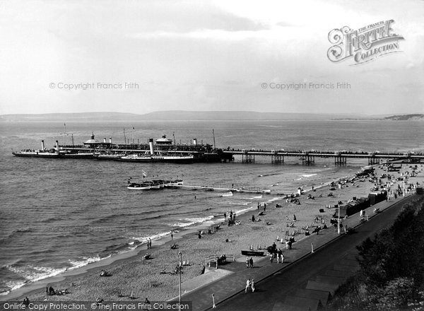 Bournemouth, The Pier 1925
